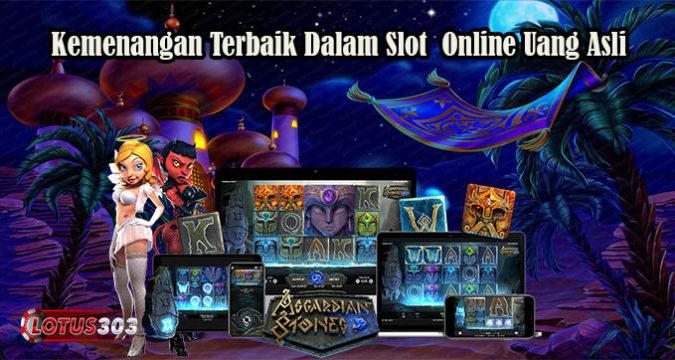Kemenangan Terbaik Dalam Slot Online Uang Asli